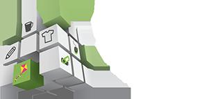 Cerf-volant Publicitaire Logo